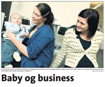Baby og business