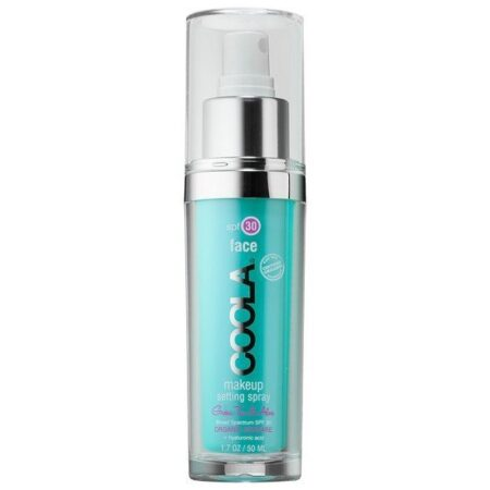 Coola face makeup setting spray spf 30