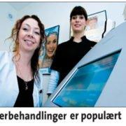 Laserbehandlinger er populært