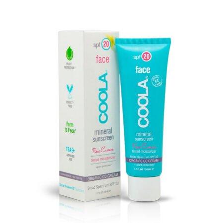 Mineral Sunscreen Rose Essence SPF 20 er en let pigmenteret dagcreme der beskytter mod UVA og UVB stråler