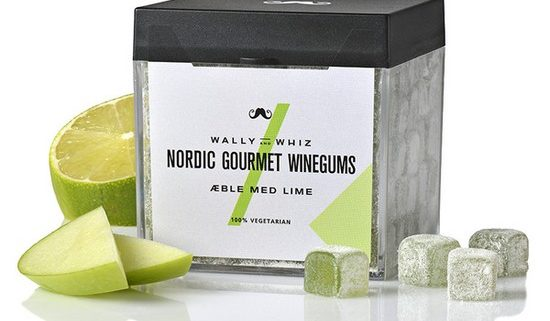 Nordic Gourmet Winegums - Æble med lime