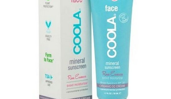 Coola face mineral sunscreen spf 20 rose Essence