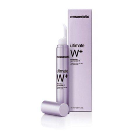 Ultimate W+ Whitening Spot Eraser er til lokal behandling af pigmentpletter
