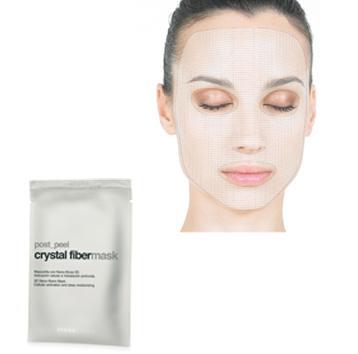 crystal fiber mask er en fugtgivende og beroligende ansigtsmaske