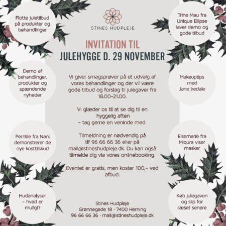 JULEHYGGE D 29 NOVEMBER
