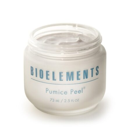 Pumice Peel er ultafin peeling til ansigtet lavet af urter og krystaller fra Bioelement.