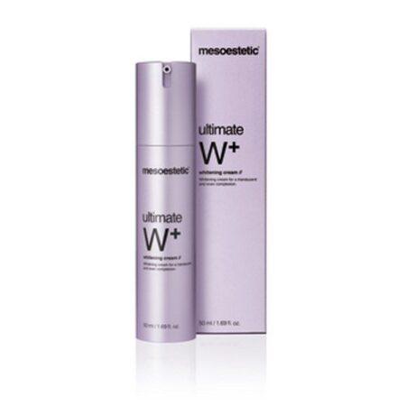 Ultimate W+ Whitening Cream er en creme med lysende effekt