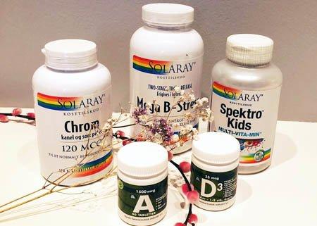 Udvalgte vitaminer - spar 20%