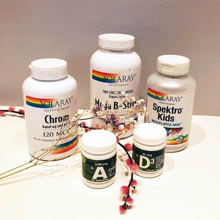 20% på udvalgte vitaminer