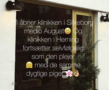 Stines - ny hudplejeklinik i Silkeborg