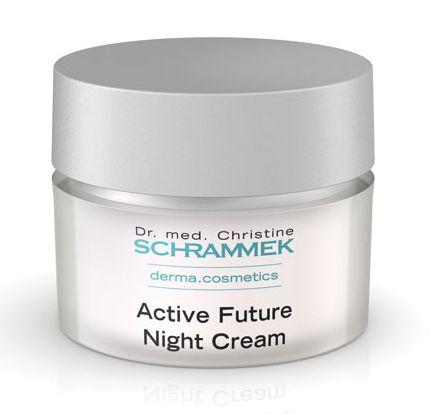 Active Future Night Cream er en natcreme der styker og beskytter huden
