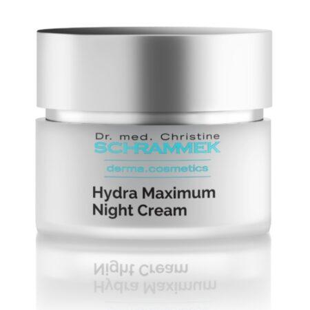 Hydra Maximum Night Cream er en intensiv natcreme til hud med tendens til tørhed.