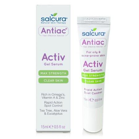Antiac Activ Gel Serum er spot treatment til urenheder